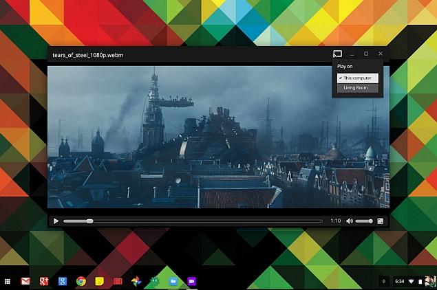 Chrome OS Users Can Now Stream Google Drive Videos via Chromecast
