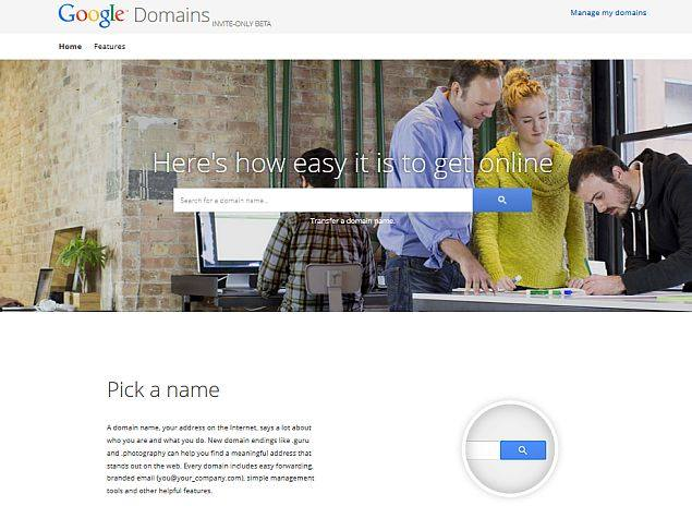 Google Gets Into the Domain Registration Business