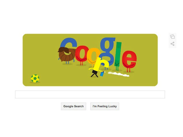 Google's Brazil vs Germany Doodle on Tuesday Showcases 'Vanishing Spray'