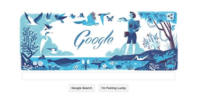 Google Doodles Rachel Louise Carson's 107th Birthday