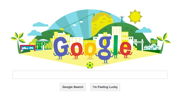 World Cup 2014 Kick Off Marked With an Animated Doodle