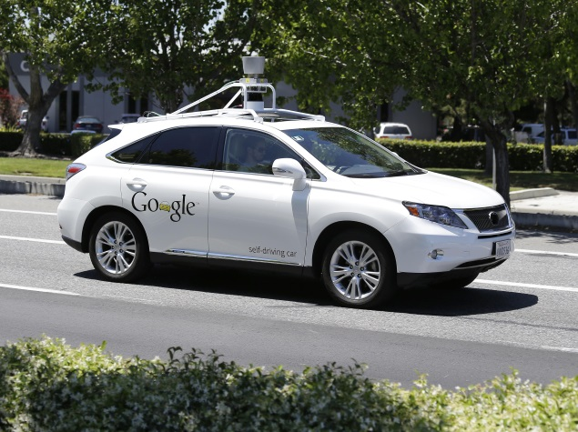 Google's Self-Driving Cars Involved in 11 Accidents So Far