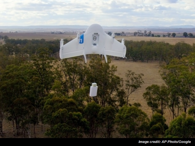 Google Testing Airborne Drones for Goods Delivery