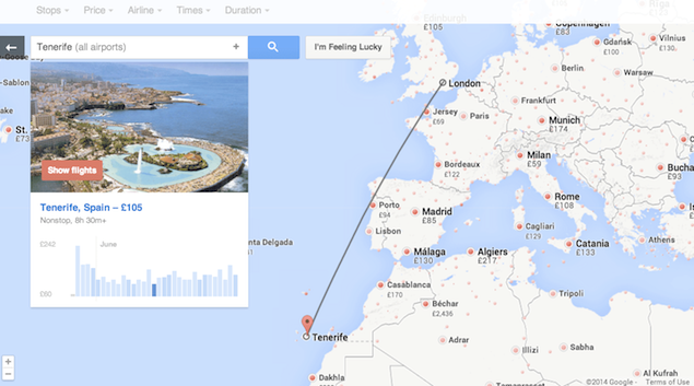 Google Flight Search Redesign Brings New Ways to Explore Flights