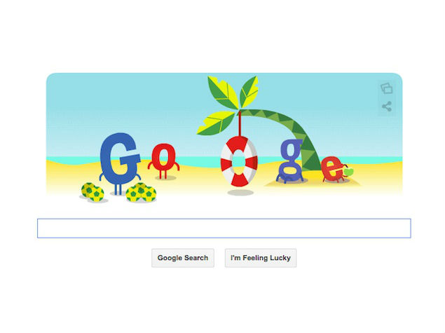 France vs Nigeria Match Featured in Google's Animated Doodle on Monday