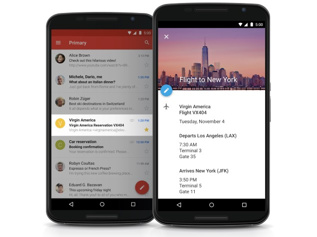 Google Unveils Revamped Gmail and Calendar Apps