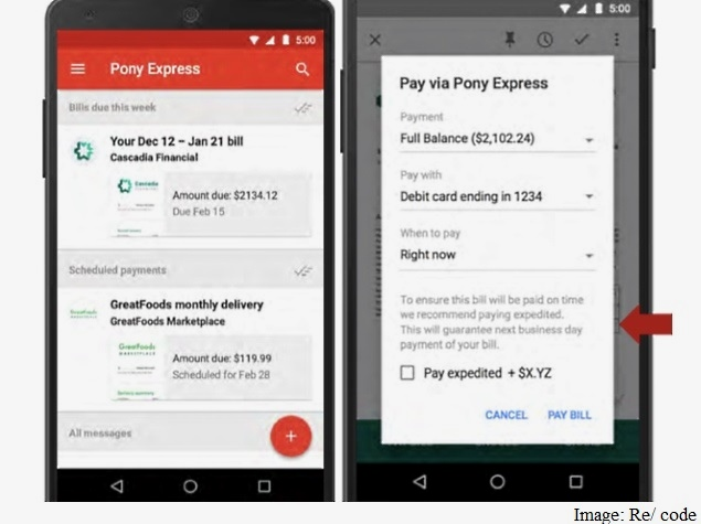 Google 'Pony Express' to Reportedly Enable Bill Payments via Gmail