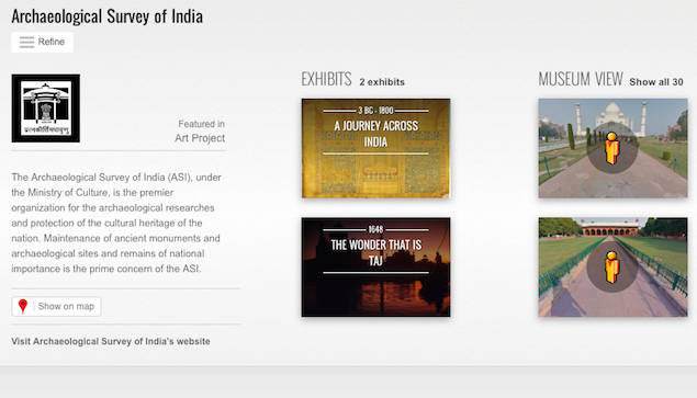 Google, ASI unveil 360-degree online imagery of Indian heritage sites