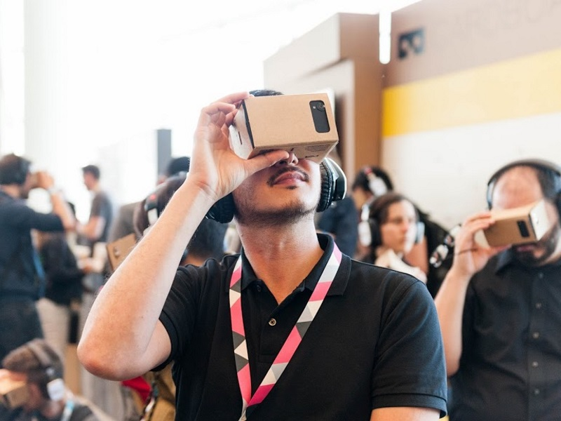 New York Times Partners Google on Virtual Reality Project