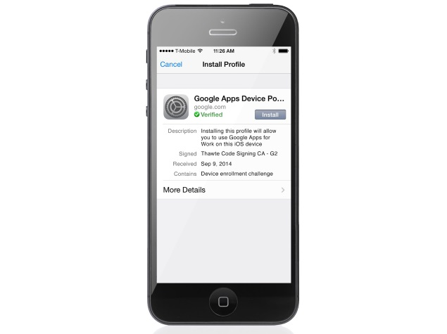 Google Unveils iOS Sync for Google Apps Device Management Solution