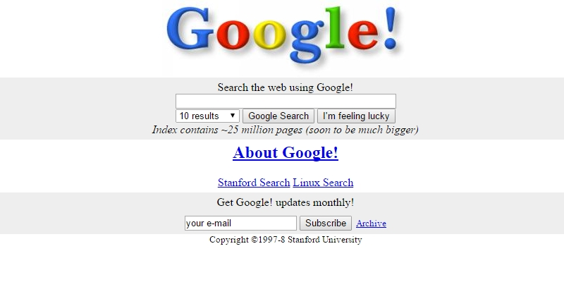Google Is Now Old Enough To Vote