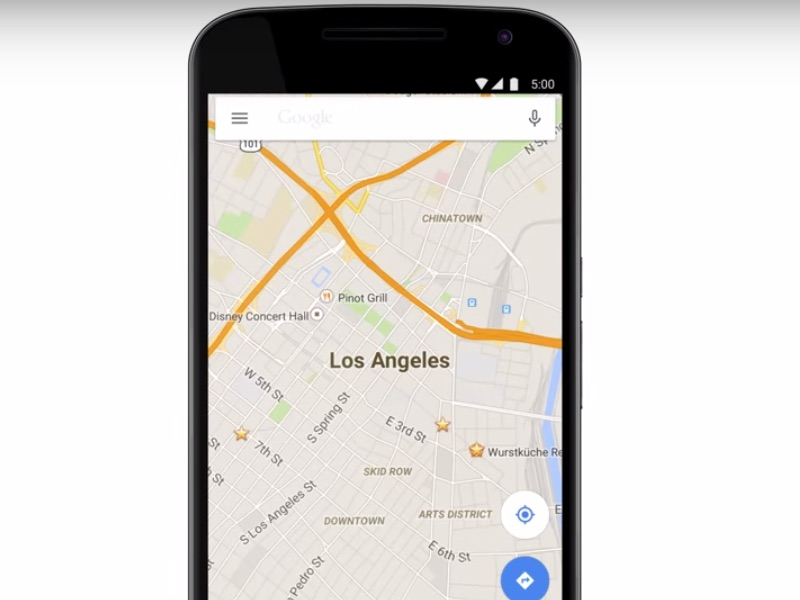 Google Maps for Android Update Brings Street View ...