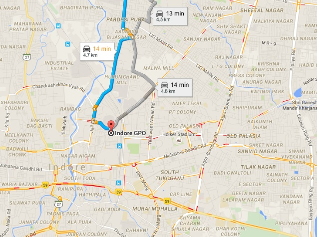 Google Maps Real-Time Traffic Information Comes to 12 More ...