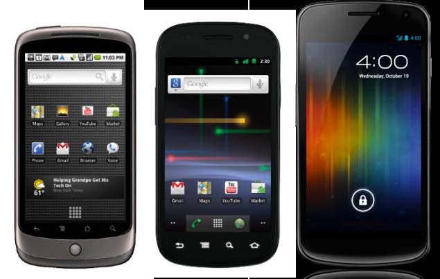 One Nexus per year is past; HTC, Sony, Samsung, LG working on Nexus phones - report