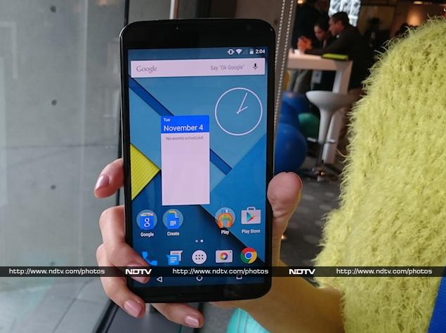 Google Nexus 6 India Price and Launch Details, Hands On