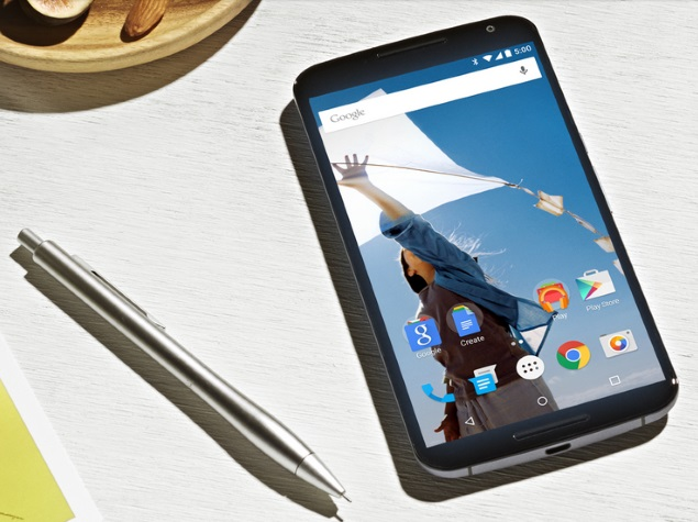 Google Nexus 6 Now Available in India at Rs. 34,999