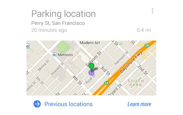 Google Search app update to help users find their parked cars, and more