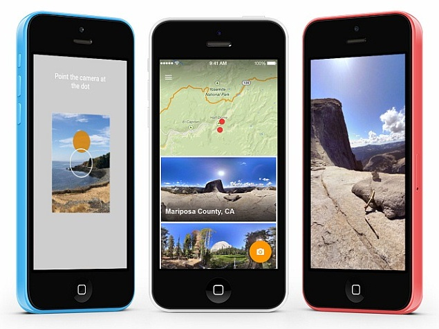 Google Launches Photo Sphere Camera App for iOS