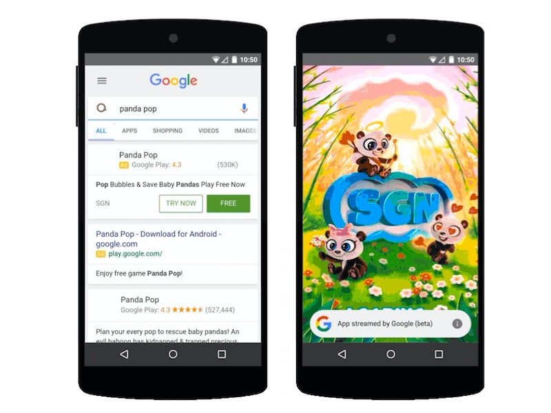 Google Search Results Will Soon Let You Try Android Games Without Installing Them