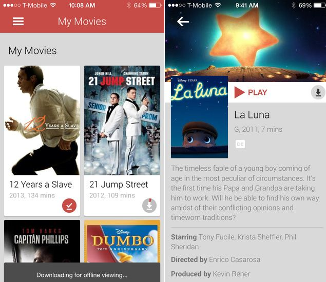 Google Play Movies  Tv App For Ios Updated With Offline -3106