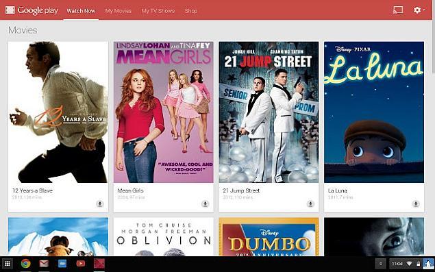 Google Play Movies & TV App Update Brings Offline Playback to Chromebook