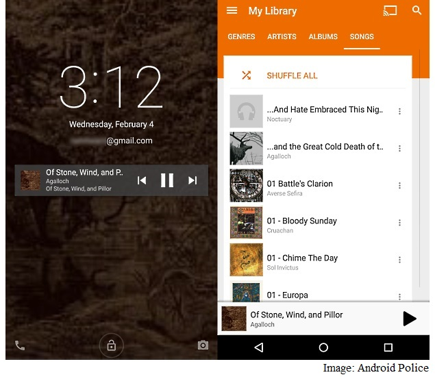 Google Play Music App Updated With New Navigation Drawer, Back Button, More