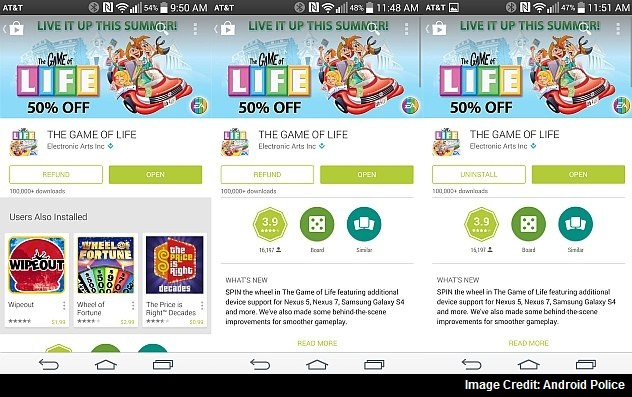 Google Play's 2-Hour Refund-Window for Apps and Games Now