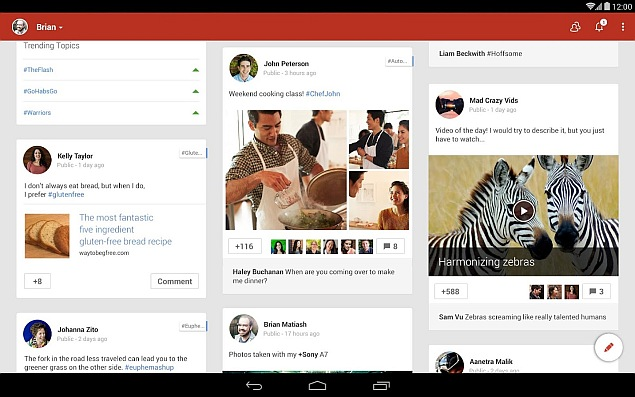 Google+ for Android Updated With Chromecast Stream Support and More