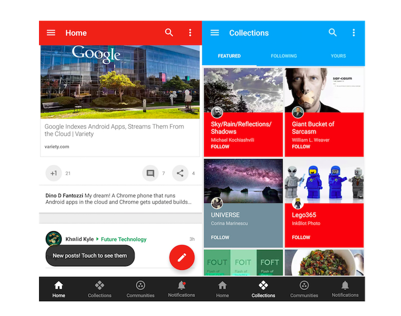 Google+ for Android Update Brings Revamped Interface and More