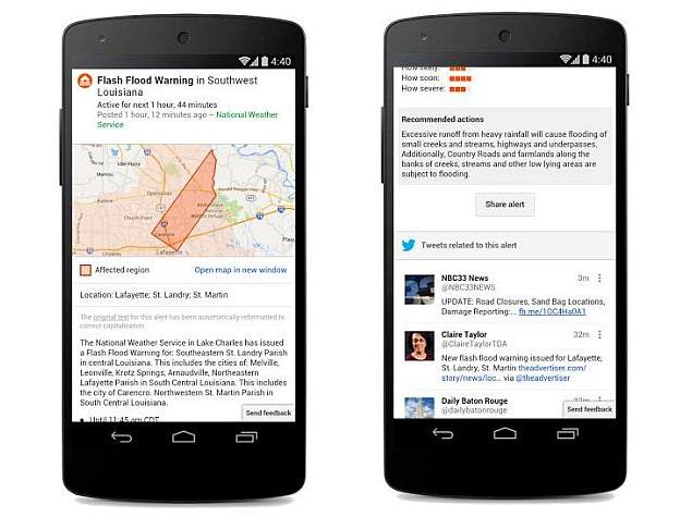 Google Partners With Twitter to Include Tweets in Public Disaster Alerts
