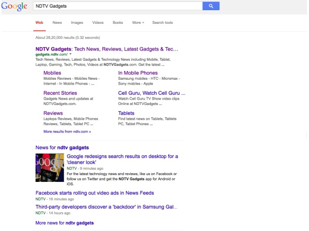 Google redesigns search results on desktop for a 'cleaner look'