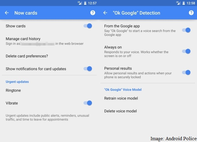Google Search v4.1 for Android Adds New 'Now Cards' Settings and More