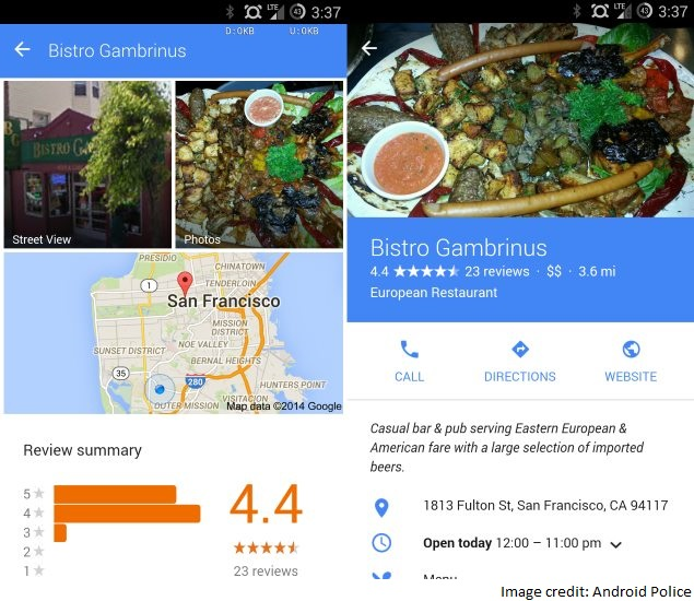 Google Testing Material Design Overhaul for Mobile Web Search: Report