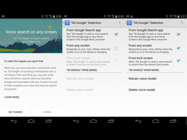 Google Search App for Android Update Detects 'Ok Google' From Any Screen