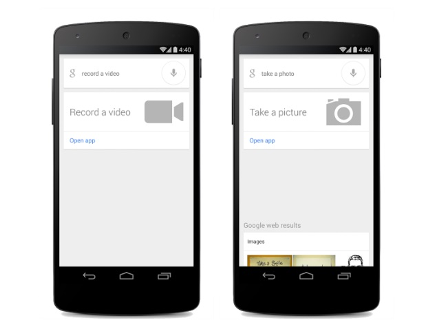 Google Search app for Android gets quick voice commands for camera