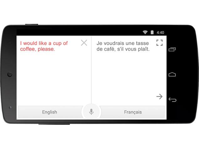 google translate through camera