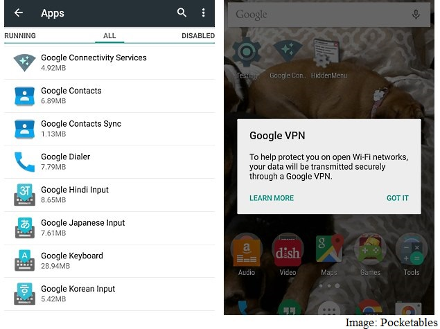 Google VPN Service Spotted in Android 5 1 Lollipop: Report