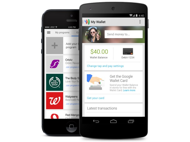 Google Wallet app updated with online order tracking and