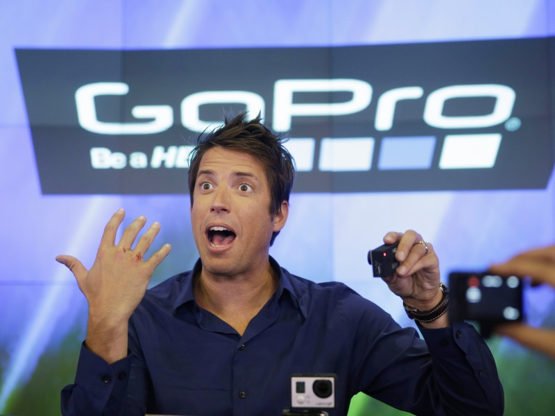 GoPro Cutting About 100 Jobs After Weak Q4 Sales