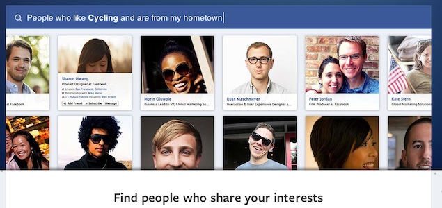 Facebook Graph Search for mobile starts rolling out to some users
