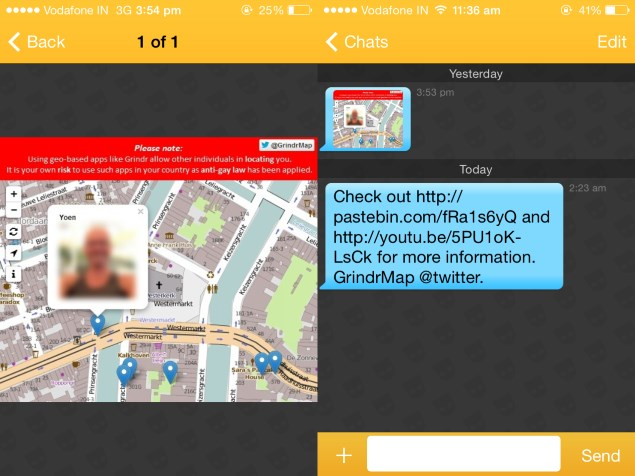 Alleged Grindr Security Flaw Exposes Exact Location Data