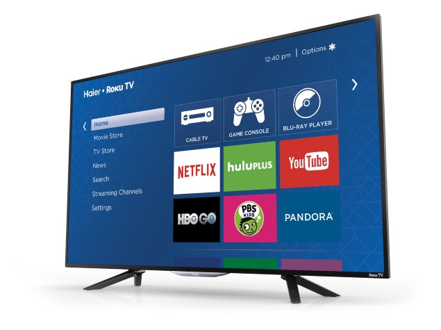 Roku Partners Haier and Insignia for Roku TV; Announces 4K Support