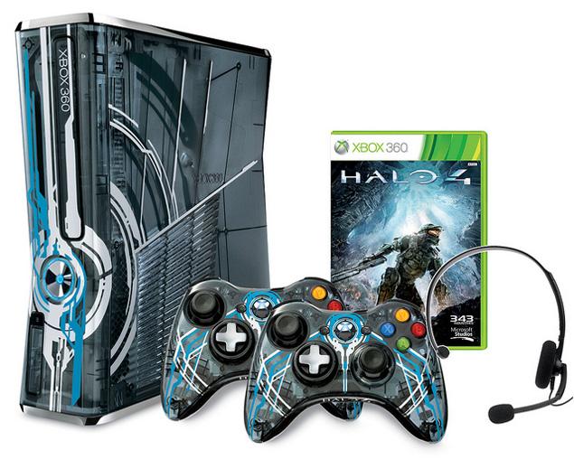 Microsoft unveils limited edition Halo 4 Xbox 360