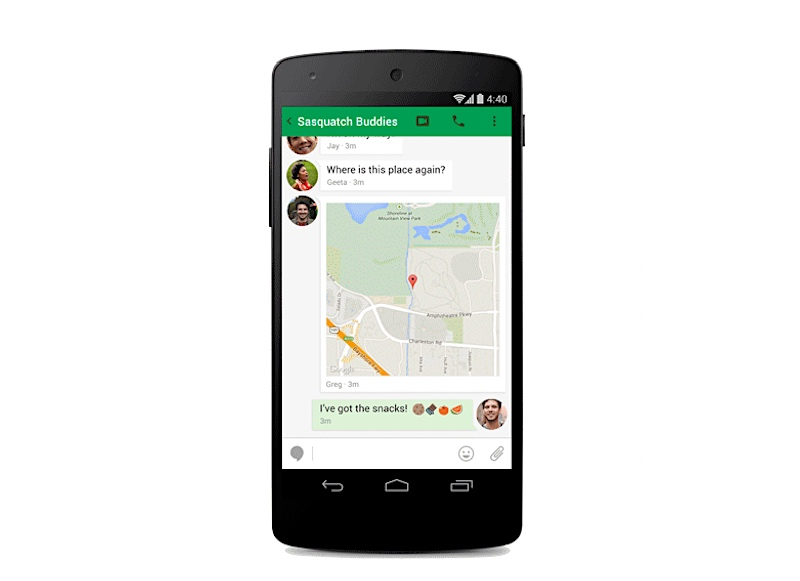 Google Hangouts Gets Improved Call Quality With Peer-to-Peer Connections
