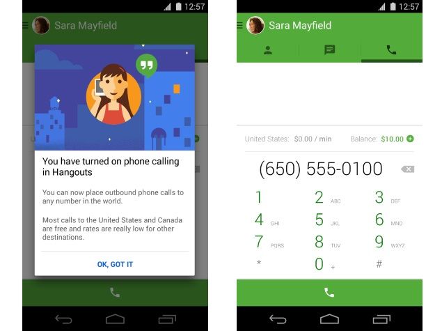 App to make call from different number in india