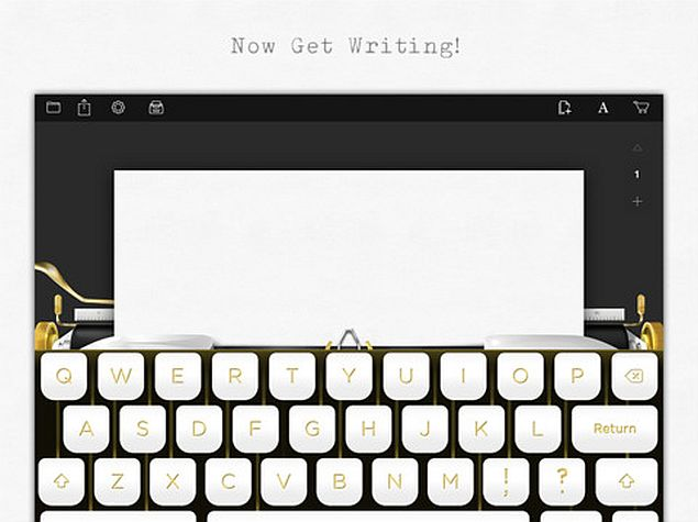 Tom Hanks Releases Typewriter Simulator iPad App Hanx Writer
