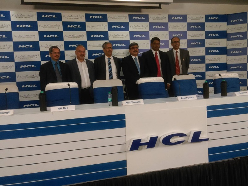 HCL Commits $1 Billion in Investments in Tamil Nadu Over 5 Years
