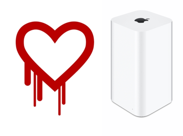 Apple releases Heartbleed patch for AirPort Extreme and AirPort Time Capsule