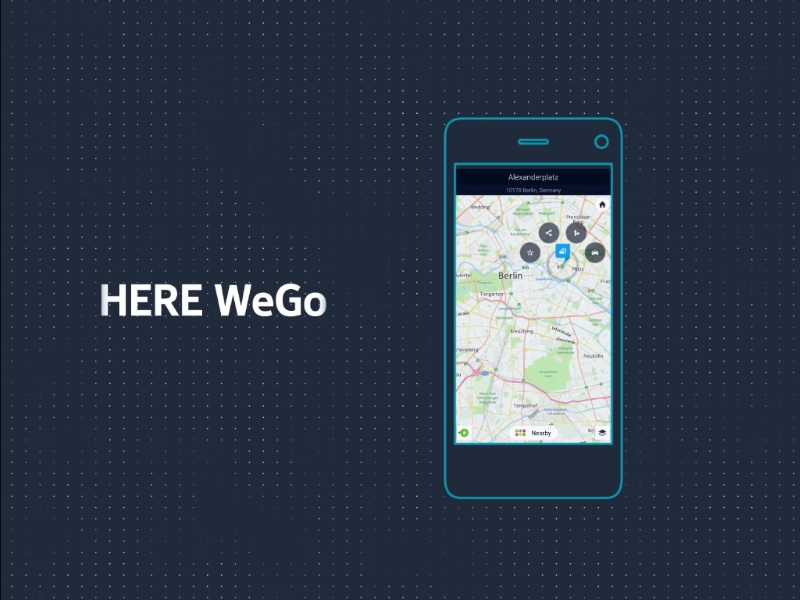 Here Maps Rebranded as Here WeGo; Updated With New Features and Design