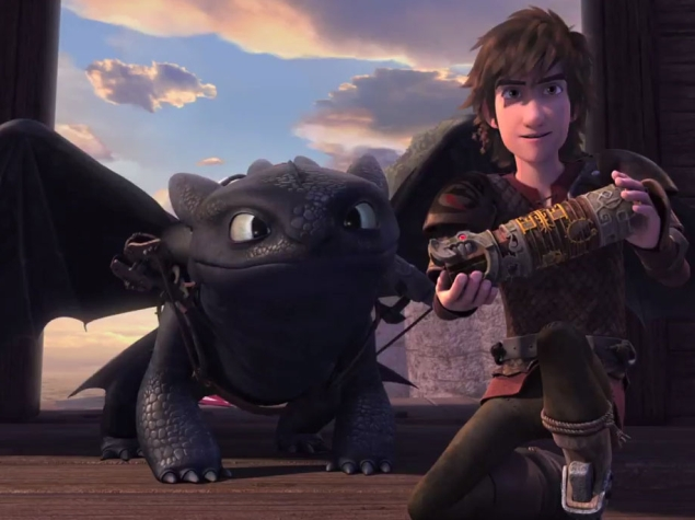 How to Train Your Dragon on Netflix Looks Like the Movies